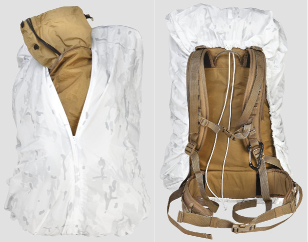 The new Overwhites pack covers come in three sizes from Wild Things Gear.