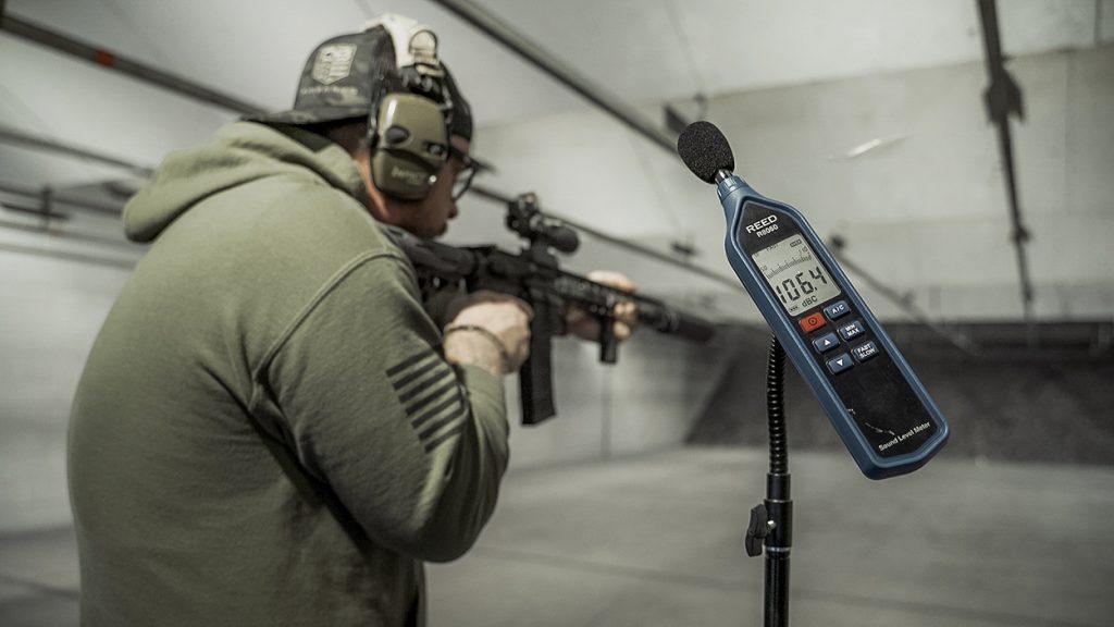 Shooting The Mute polymer AR 15 suppressor