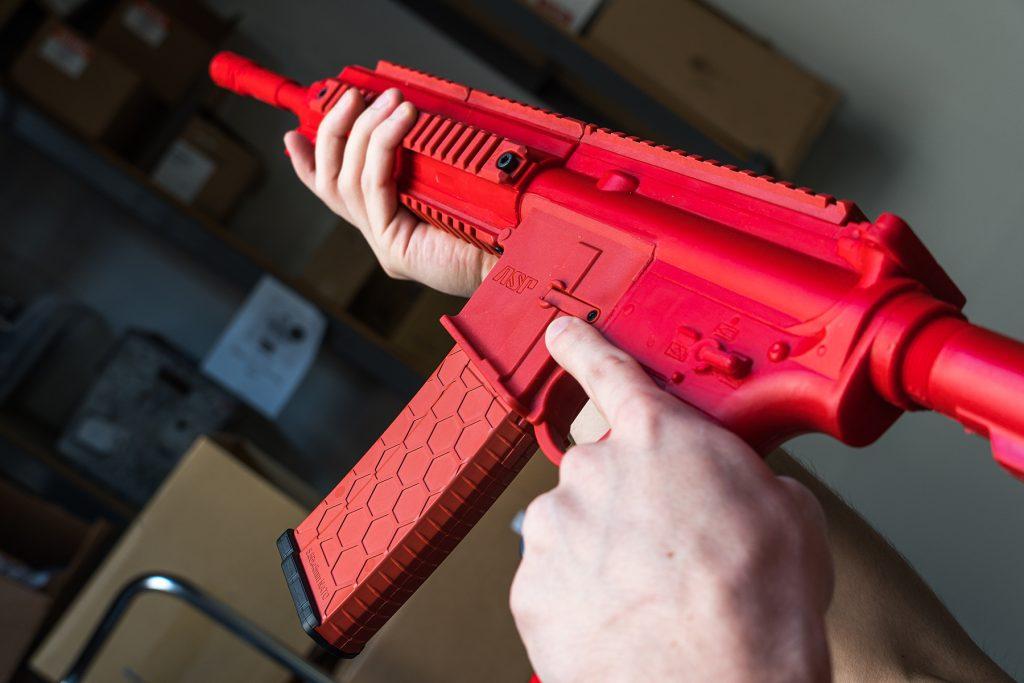 ASP Training Gun (HK416 replica)
