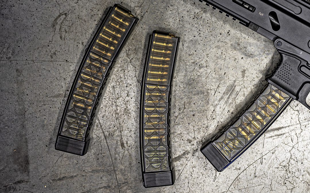 Global Ordnance Now Offering New Grand Power Stribog Curved Magazines